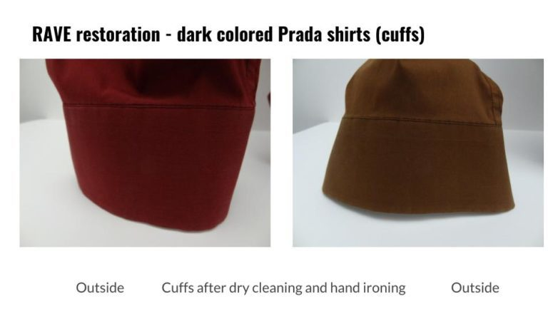 RAVE FabriCARE in Scottsdale, Arizona, nationally recognized as one of the nation's premier dry cleaners and fabricare specialists, explains why dark colored cotton shirts should be dry cleaned and hand ironed, never laundered and machine pressed